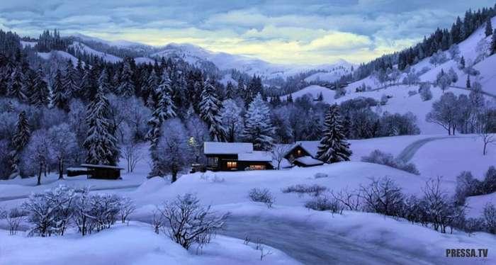 Зима нам только снится (12 фото)