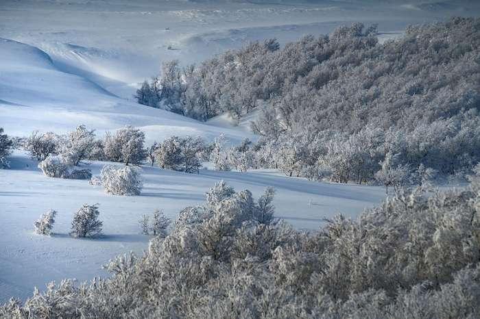 Норвегия - зимняя страна чудес