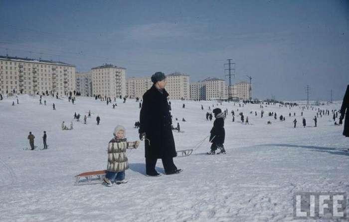 20 фото маленьких москвичей начала 1960-го