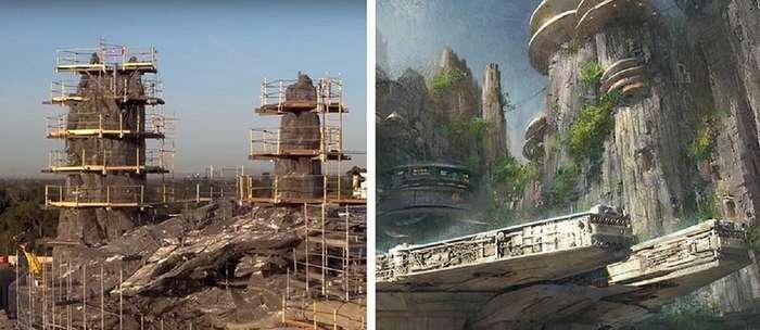Студия -Дисней- откроет два тематических парка, посвященных -Звездным войнам-