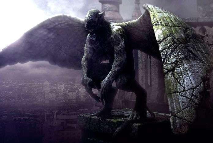 Монстр, который живет на крыше