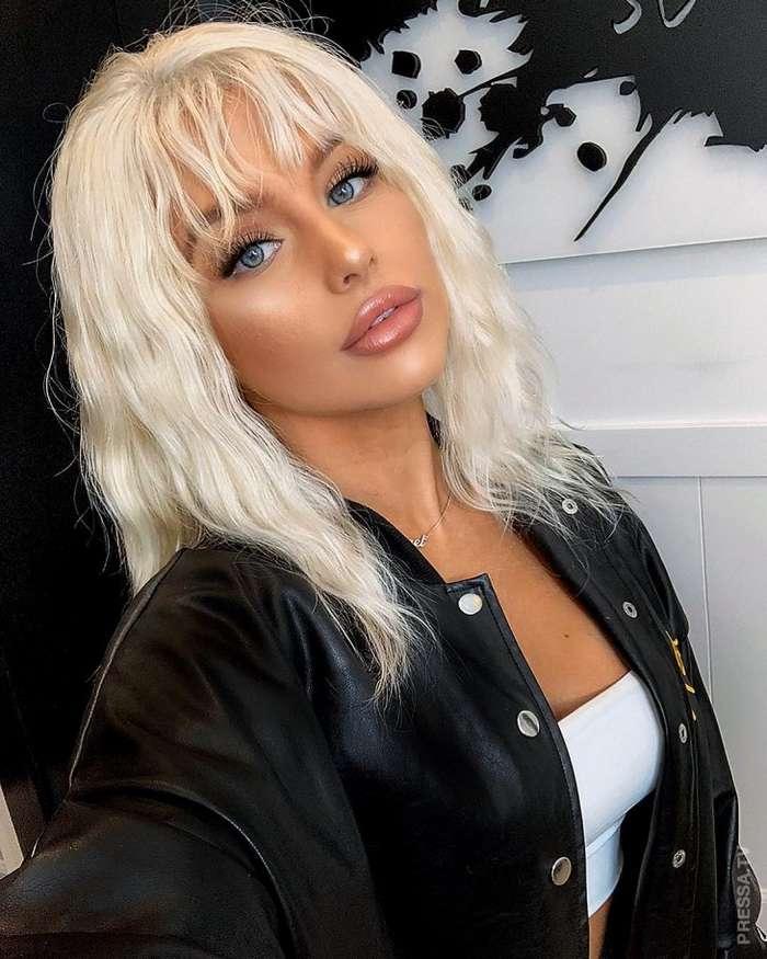 Шокирующее превращение из эмо в очаровательную блондинку