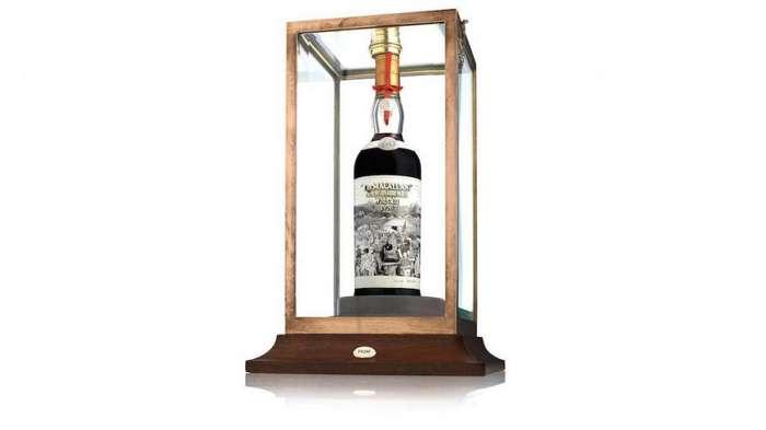 Виски с уникальной этикеткой собираются продать на аукционе за миллион долларов
