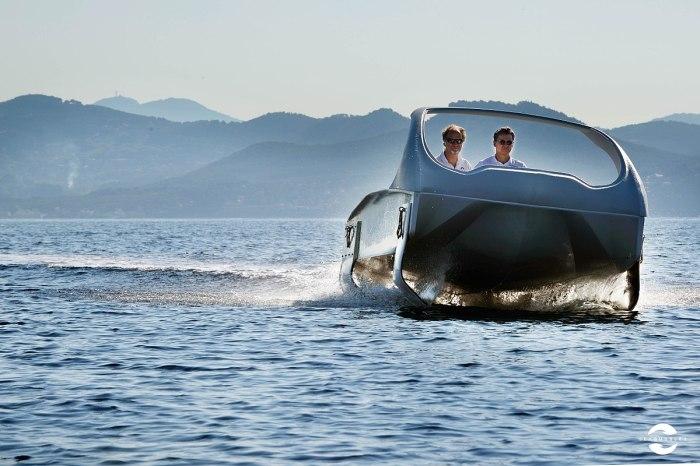 Морской пузырь: доступное водное такси для городов, стоящих на реках