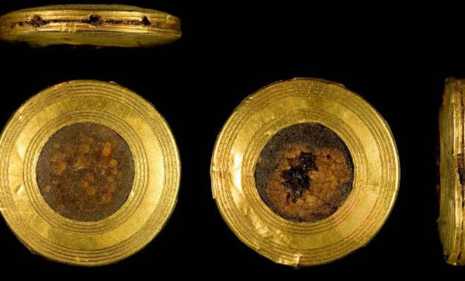 Кинжал из 140 000 золотых кусков: ученые проникли в тайну возрастом 4000 лет -7 фото-