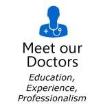 doctors blue icon box