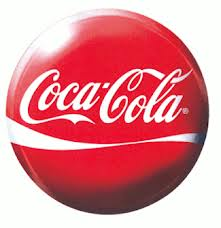 Red and white Coca-Cola Coke Sugar logo