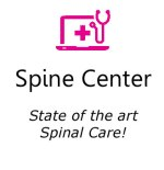 Spine Center icon in red