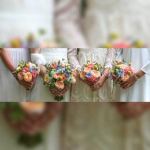 wedding, flowers, bouquet, bride, bridesmaids, white, wedding photography, Cheryl Angear Photography