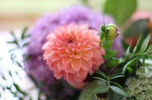 pink, flowers, wedding, Cheryl Angear Photography