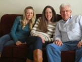 Don with our daughters Kristin and Kelli