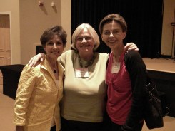 At a writers conference with author, speaker, faculty member and friend Vonda Skelton (left) and my long-time friend, artist, and writer Jeneal Rogers (center)