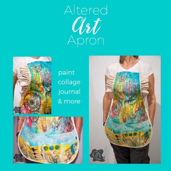 Altered Art Apron Workshop