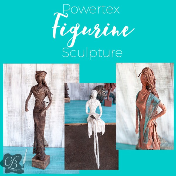 Cheryl Boglioli Powertex Figurine Sculpture Class