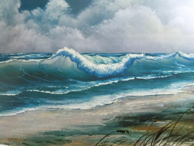 seascape Joy of Painting workshop