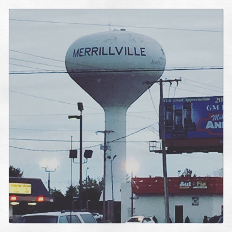 Merrillville Water Tower
