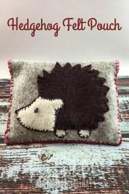 Hedgehog-Felt-Pouch-Title
