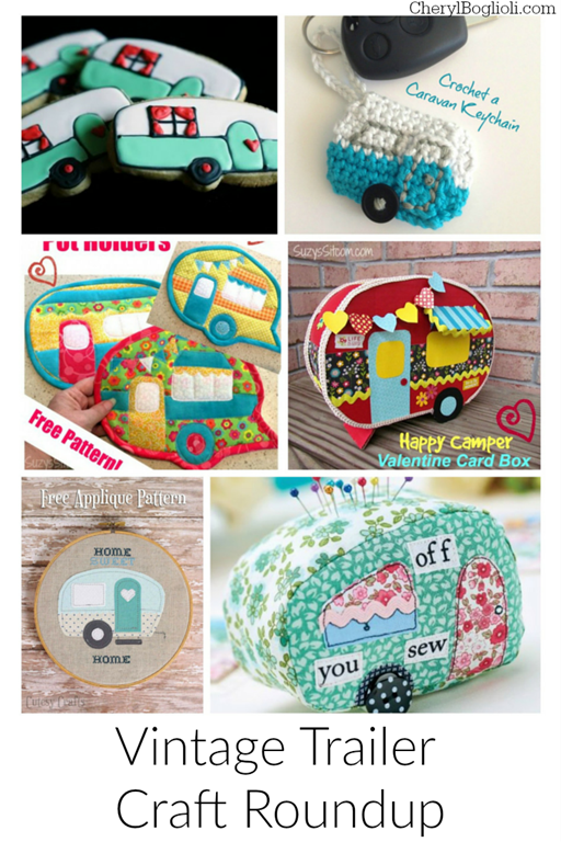 Vintage Trailer Crafts – A Roundup