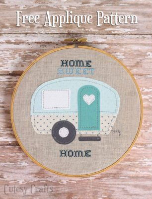 vintage trailer embroidery