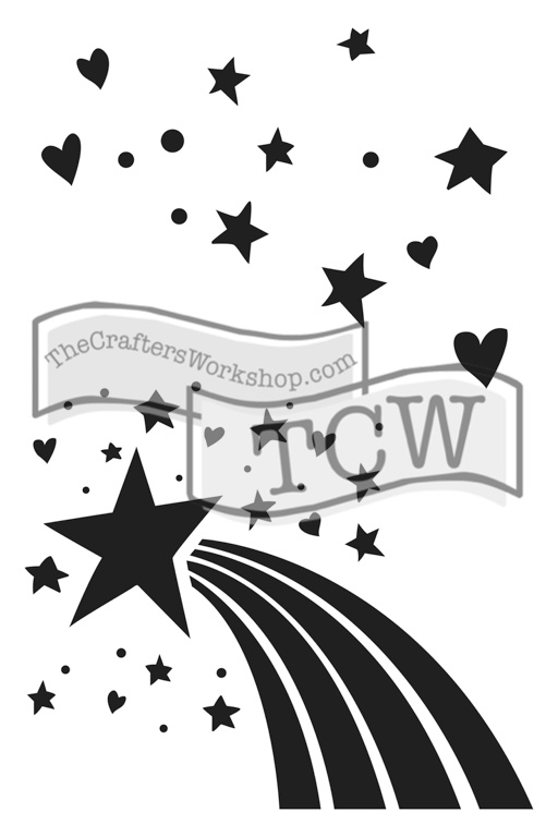 TCW2148 Rainbow Star