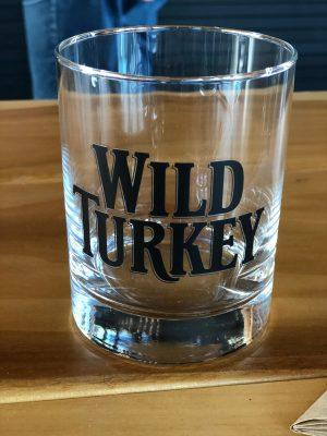 Wild Turkey Rock Glass