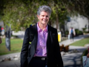 Cheryl Calhoun, PhD, Dean of Access & Inclusionon on the Santa Fe College Northwest Campus on Thursday, Jan. 10, 2019 in Gainesville, Fla. (Photo by Matt Stamey/Santa Fe College)