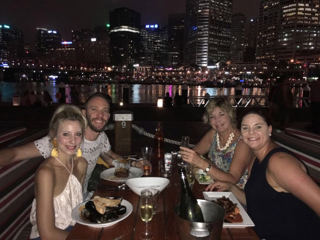 Special Dinner at Darling Harbour