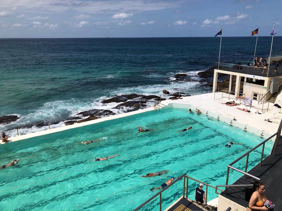 Ice Pool at Bondi Beach