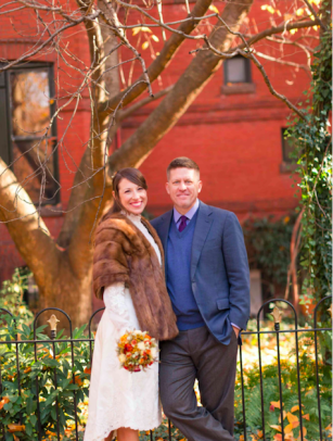 We love how our bride styled her wedding gown on the big day!