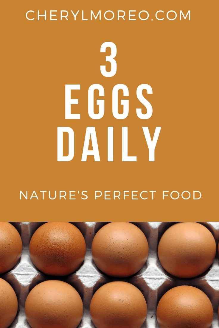 The science is clear that up to 3 eggs daily are perfectly safe for healthy people.
