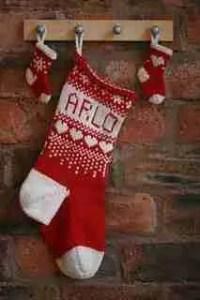 Red/White Christmas Stocking