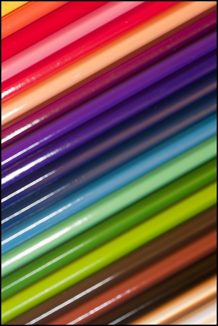 We're told as writers to use all five senses. Here's a list I found that describes colors other than the basic red, blue and yellow.