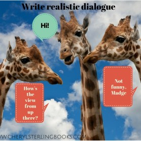 As you gear up for NaNoWriMo this year, check your dialogue. Does it sound realistic?