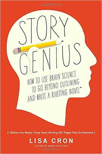 Story Genius' core message is to know your character's why. It emphasizes the importance of the author's knowing the origin of the main character's world viewpoint.