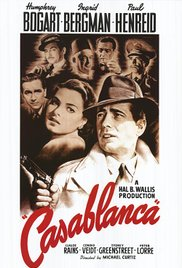 #3 on my list of favorite movies is Casablanca