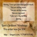 Love's Brilliant Wreckage www.cherylsterlingbooks.com cool links for June 9, 2018