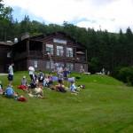 Moosilauke Ravine Lodge AMC Moosilauke hike 7/31/2010