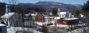 picture of Johnson, VT in winter