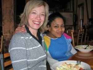 Susan & Chantal at VSC February 2011