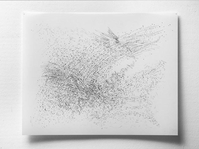 "11.27.13.2, graphite on vellum, 3 layers, 19 x 24"", 2013"