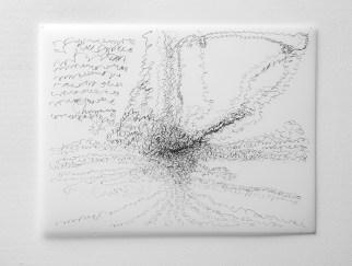 "Untitled #16, graphite on vellum, 19 x 24"", 2009"