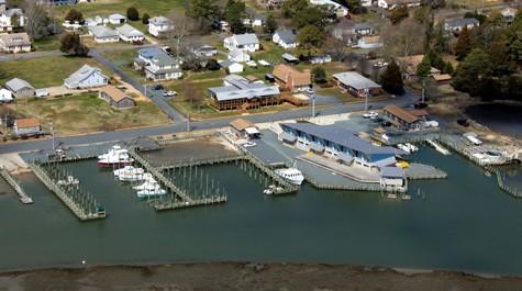 VIMS Eastern Shore Laboratory in Wachapreague, Virginia. Photo: P.G. Ross