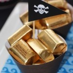 Gold Nugget Bars Pirate Party Ideas