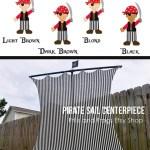 Pirate Sail Pirate Party Ideas