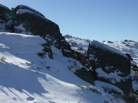 Top of the Kosciuszko Express chairlift - Thredbo