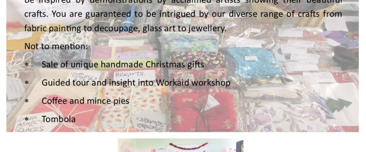 Craft Open Day at Workaid