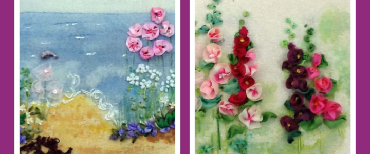 Silk Ribbon Embroidery – Poppies at Workaid