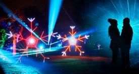 christmas lights dunham massey, christmas lights cheshire, christmas lights manchester