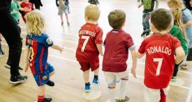 indoor football class bramhall, 3 year old football class cheshire