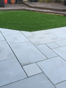 smooth-grey-sawn sandstone